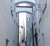Small alley in Passau (Picture)